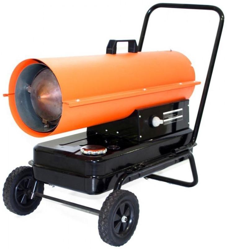 Пример дизельной тепловой пушки